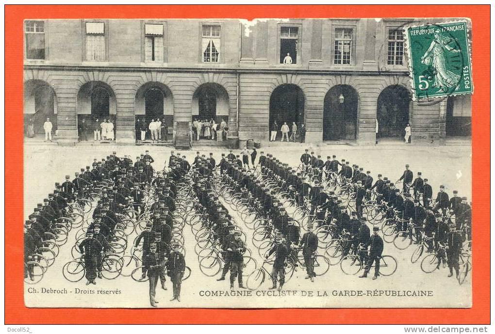 """Dpt   75   Paris   """"   Compagnie Cycliste De La Gare Republicaine   """" - Petits Métiers à Paris"""