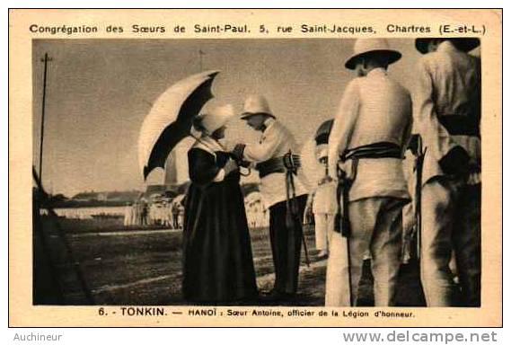 6 Tonkin - Hanoi - Soeur Antoine, Officier De La Légion D'honneur - Vietnam