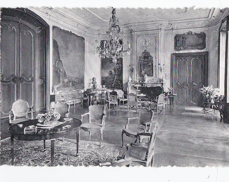 Belgique - Brugelette - Château D'Attre - Kasteel Van Attre - Salon Décoration Mobilier - Brugelette