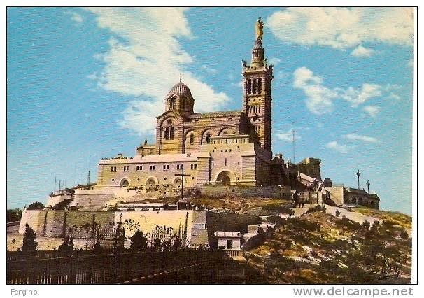 7422 - MARSEILLE (FRANCIA) - Basilica De Notre Dame Dela Garde - TAAF : Terres Australes Antarctiques Françaises