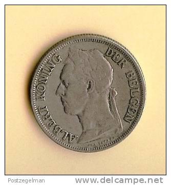 CONGO BELGE 1920-1929 1 Franc Km21 - Congo (Belgian) & Ruanda-Urundi