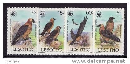 LESOTHO 1986 BIRDS   MNH - Oiseaux