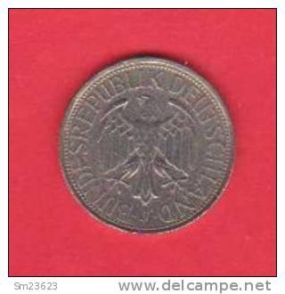 Deutsche Mark - 1 D-Mark - 1965 F - - [ 7] 1949-… : FRG - Fed. Rep. Germany