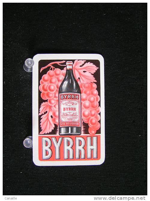 Playcard -  Dos De Carte A Jouer,1 Cartes Avec Publicitè -  Byrrh, Vin De Liqueur  . - - Non Classés