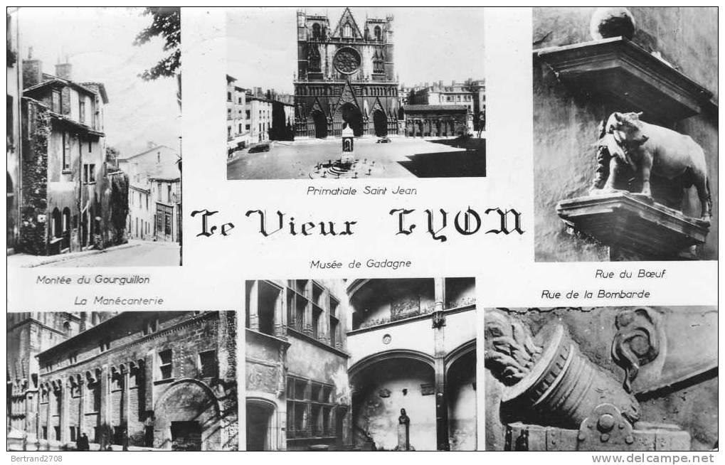 Cp LYON (Rhone) - QUELQUES ASPECTS DU Vieux Lyon - Lyon
