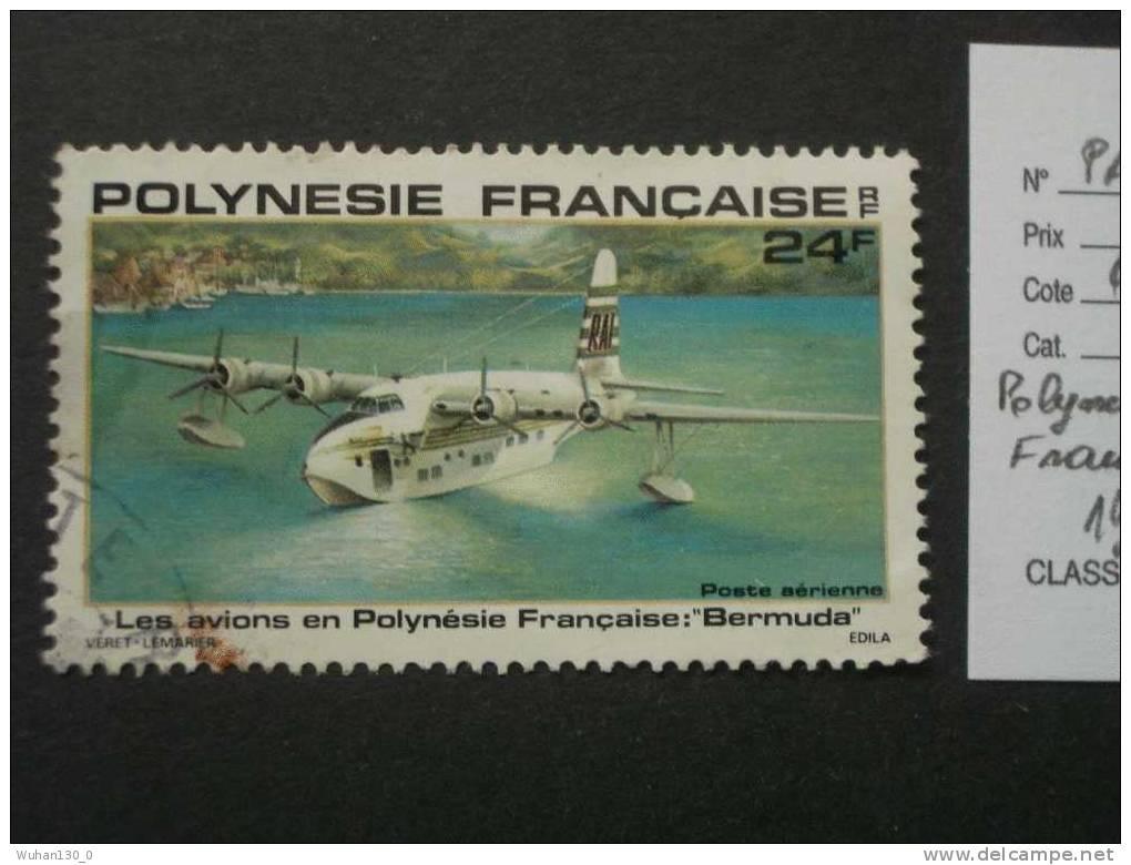 "POLYNESIE FRANCAISE ( O )  Aerien De 1979    "" Avion De Polynésie : Bermuda   ""   1  Val . - Poste Aérienne"