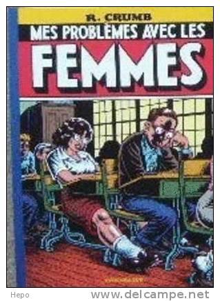Crumb Mes Problemes Avec Les Femmes- Carte Postale Serigraphie - Cartes Postales
