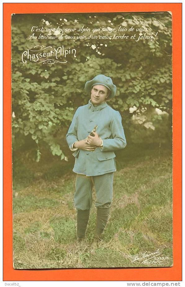 Carte Fantaisie Chasseur Alpin N3 - Regiments