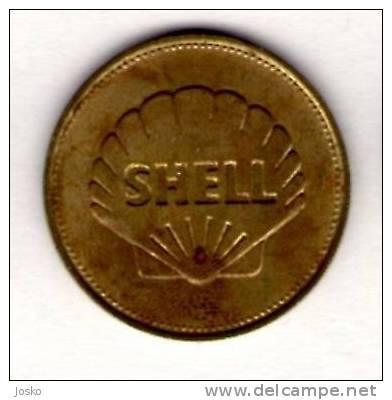 HEINKEL HE178 1939.  - Shell *  Token Jeton Vale Ficha Gettone Fiche Tokens Jetons Plane Avion Aviation History - Tokens & Medals