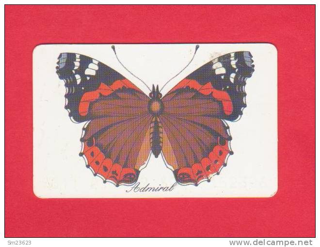 Telefonkarte 12,00 DM - Schmetterling / Admiral - - Butterflies