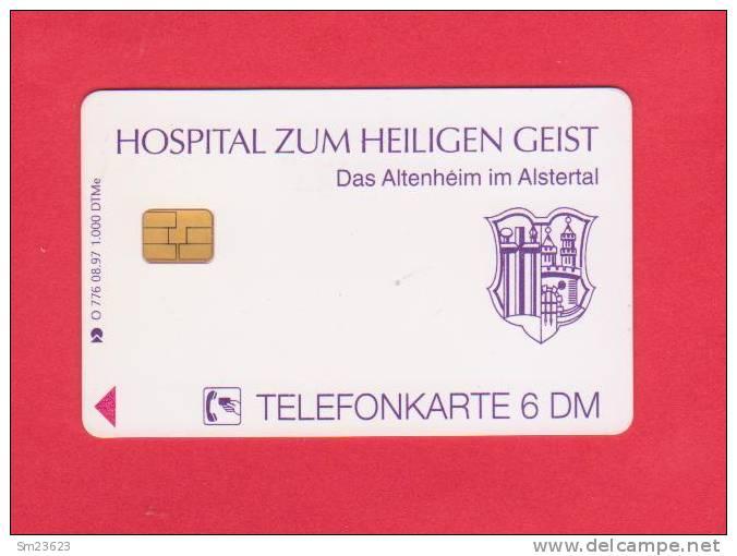 Telefonkarte /  6 DM  - Hospital Zum Heiligen Geist - Altenheim Im Alstertal - Auflage Nur 1.000 Stck. - Advertising