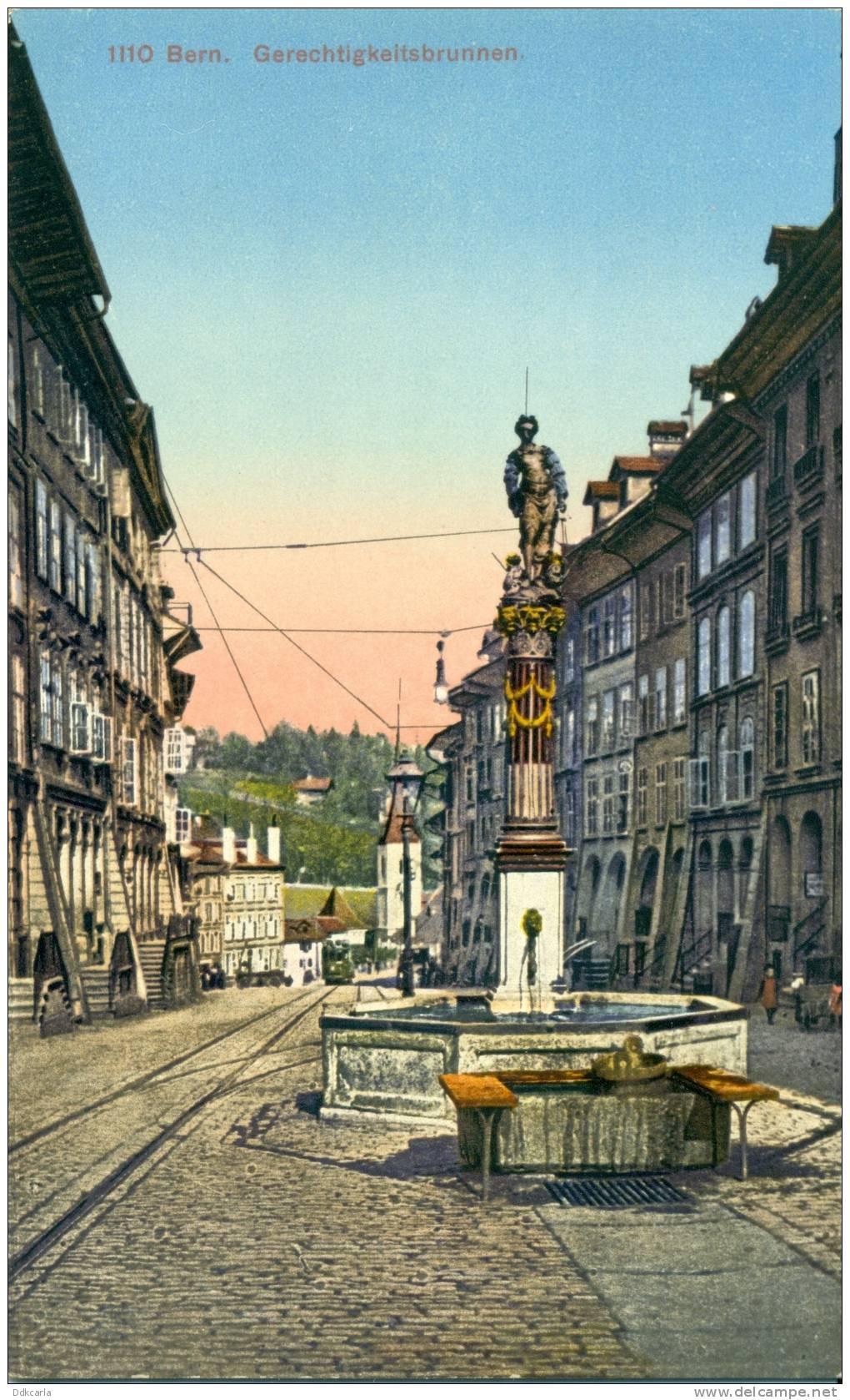 Bern - Gerechtigkeitsbrunnen - BE Berne