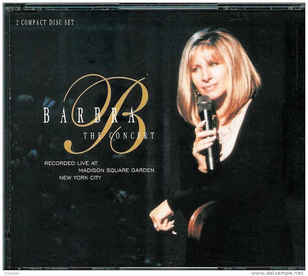 BARBRA  STREISAND * THE CONCERT * 2 DISC SET - Disco & Pop