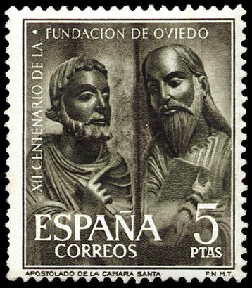 Personajes reales y esculturas de Divinidades en los sellos de Correos de España (1850-Abril de 2011) - Página 4 825_001
