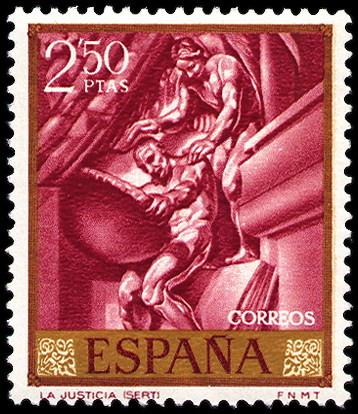 Personajes reales y esculturas de Divinidades en los sellos de Correos de España (1850-Abril de 2011) - Página 4 395_001