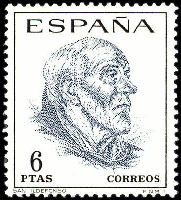 Personajes reales y esculturas de Divinidades en los sellos de Correos de España (1850-Abril de 2011) - Página 4 381_001