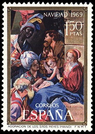Personajes reales y esculturas de Divinidades en los sellos de Correos de España (1850-Abril de 2011) - Página 4 114_001