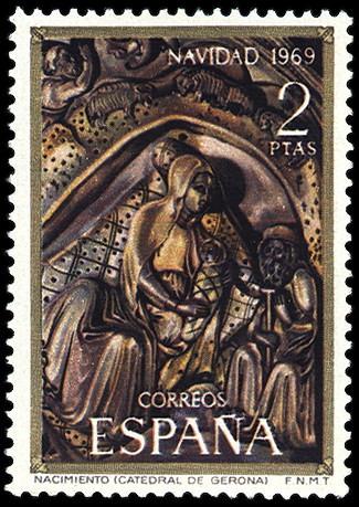 Personajes reales y esculturas de Divinidades en los sellos de Correos de España (1850-Abril de 2011) - Página 4 116_001