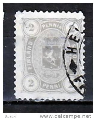 Finnland  Mi.-Nr.  12 BYb O/used  (b9774) - 1856-1917 Russian Government