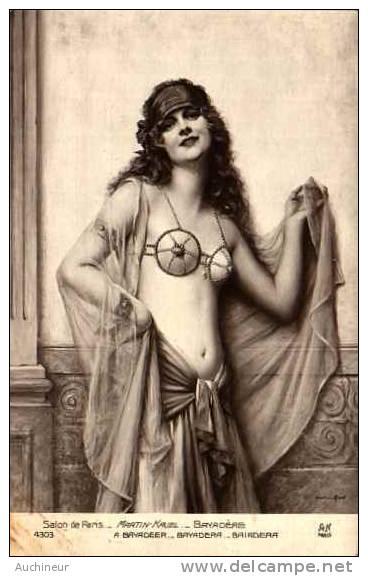 Le Nu Dans L'art - Femme - Salon De Paris - Martin-Kavel - Bayadère - Femmes