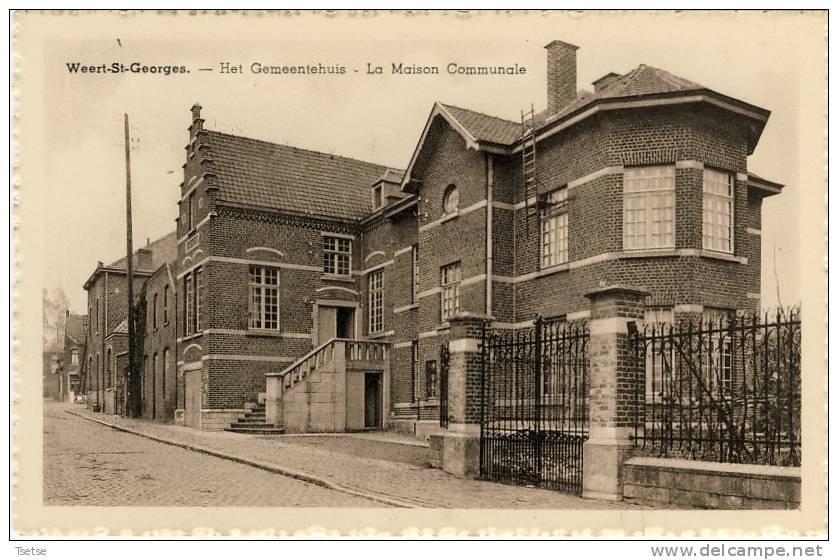 Sint-Joris-Weert / Weert-St-Joris - Het Gemeentehuis - La Maison Communale - Oud-Heverlee