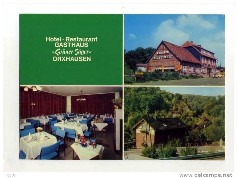 - ALLEMAGNE BASSE SAXE . ORXHAUSEN . HOTEL RESTAURANT GRÜNER JÄGER - Deutschland