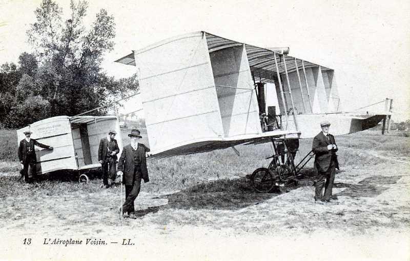 L'AEROPLANE VOISIN - ....-1914: Précurseurs