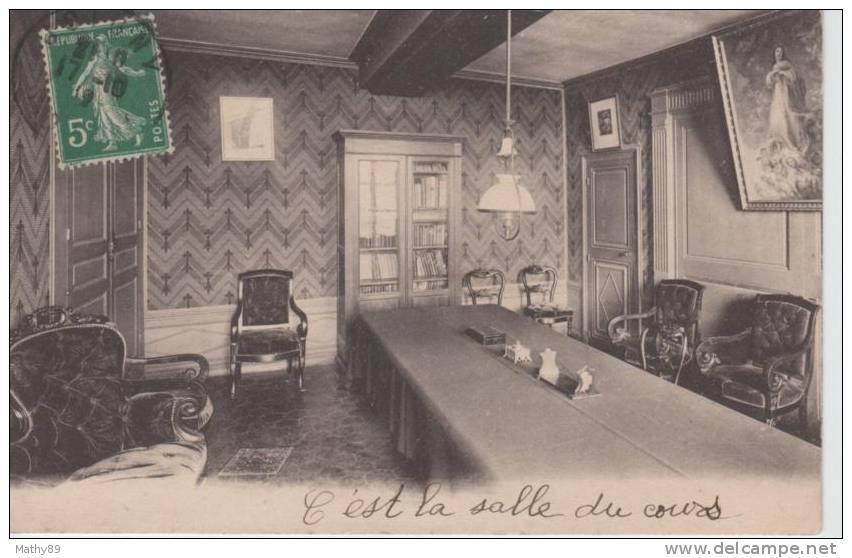 CPA  89 YONNE - JOIGNY Institut St Alpais De Jeunes Filles - La Salle De Cours Carte N° 63 - Joigny