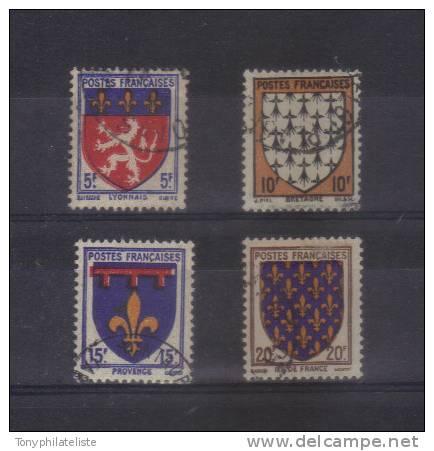 France  Armoiries De Provinces (1) N°572 / 75  Oblitéré - Gebraucht