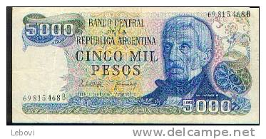 ARGENTINE 5000 Pesos - Argentine