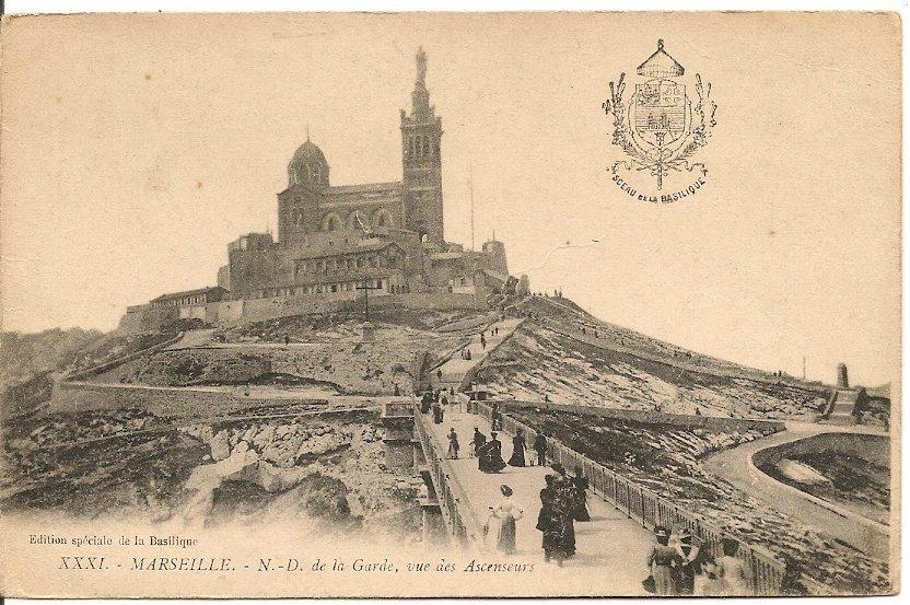 L700.583 - Marseille - Notre Dame De La Garde - Vue Des Ascenseurs - N° XXXI - Jolie  Animation - Notre-Dame De La Garde, Lift