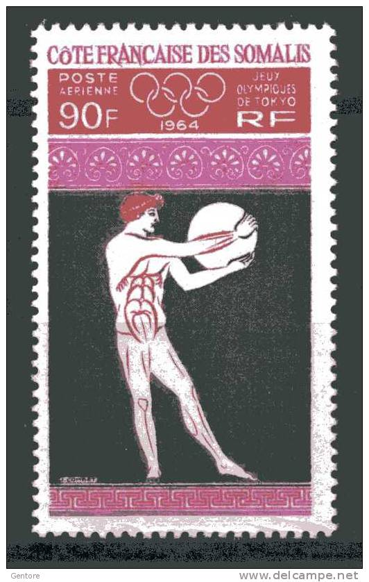 1964  COTE DES SOMALIS  Tokyo Olympic Games Yvert  Cat. Air 41   Perfect Mint Never Hinged - Summer 1964: Tokyo