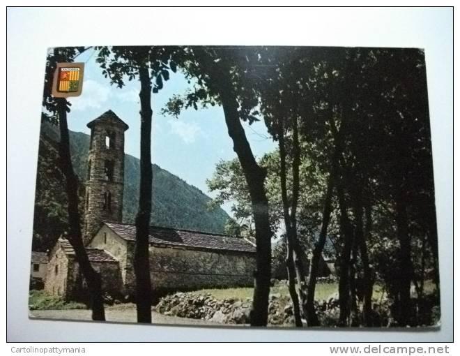 Chiesa Santa Coloma  Valls D'andorra - Andorra