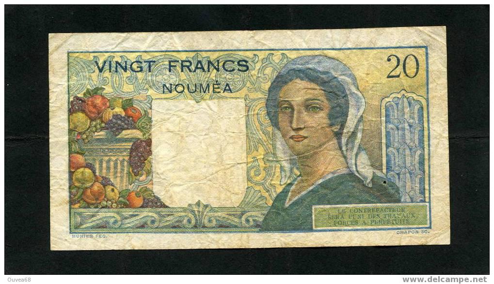 20 Francs Jeune Berger De Nouvelle Calédonie - Nouméa (New Caledonia 1873-1985)