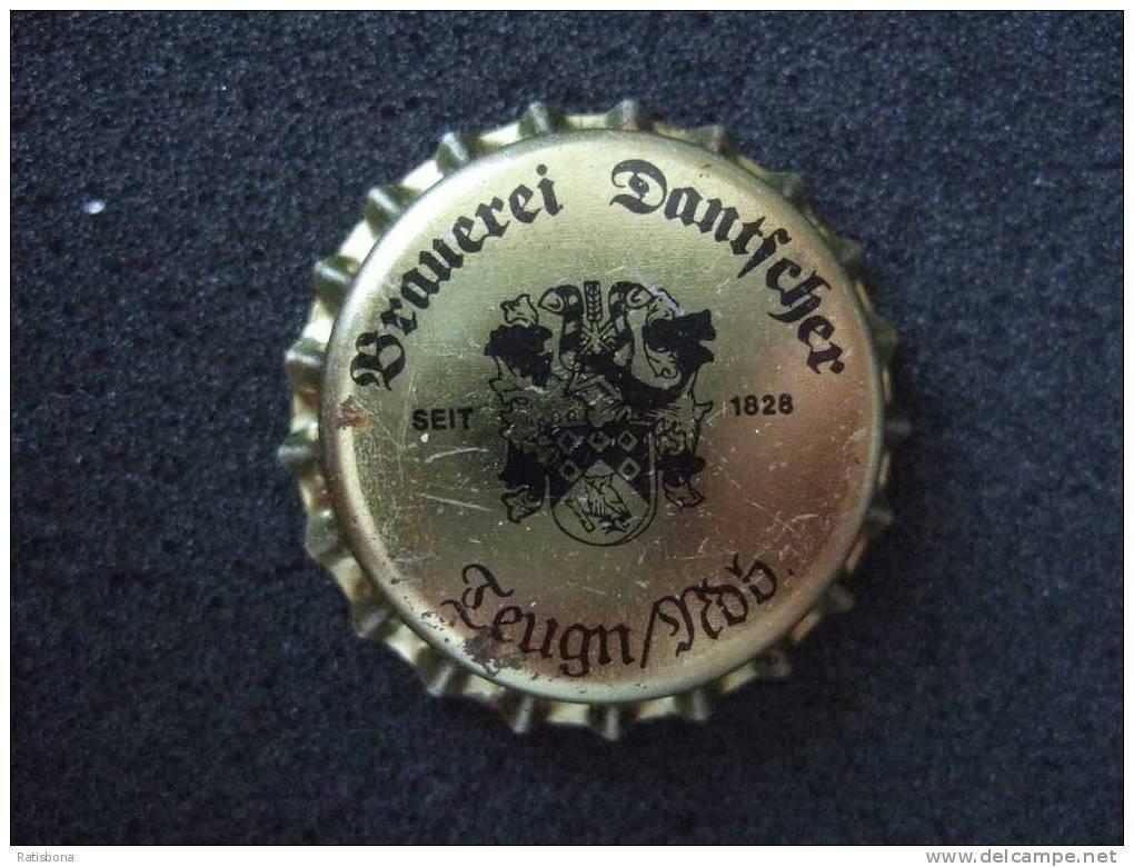 Privat-Brauerei Dantscher Teugn - 1 Kronkorken, Capsule Neuve, Crowncaps New - Bier