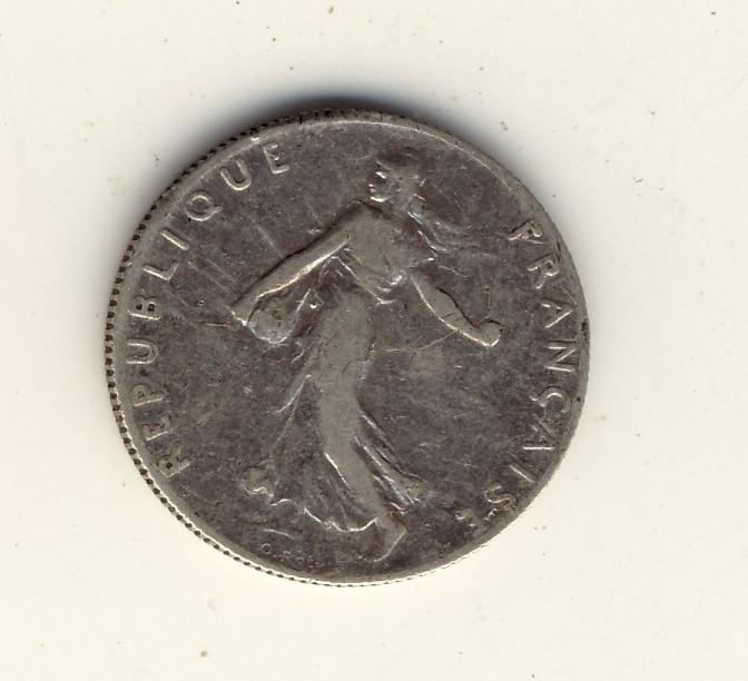 50  Centimes  1899  -  Type  Semeuse - France