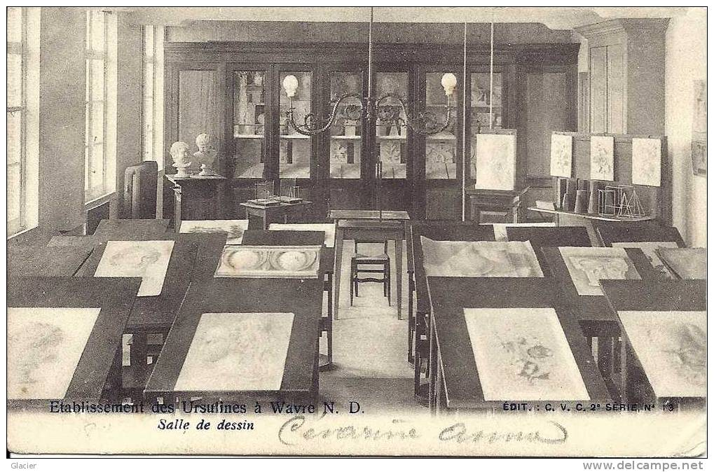 WAVRE-NOTRE-DAME - Etablissement Des Ursulines - Salle De Dessin - Sint-Katelijne-Waver