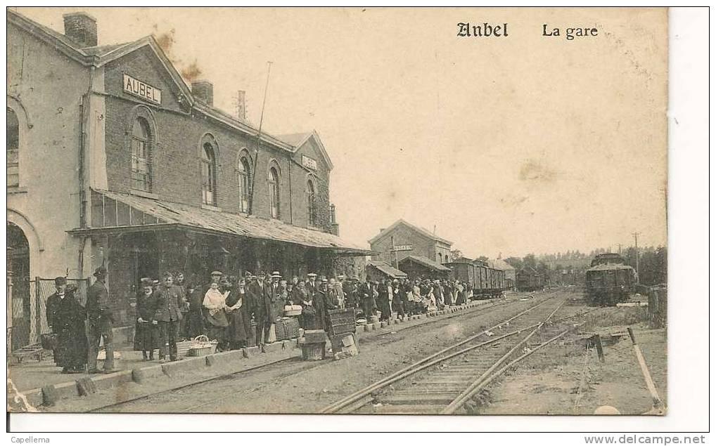AUBEL - LA GARE - Aubel