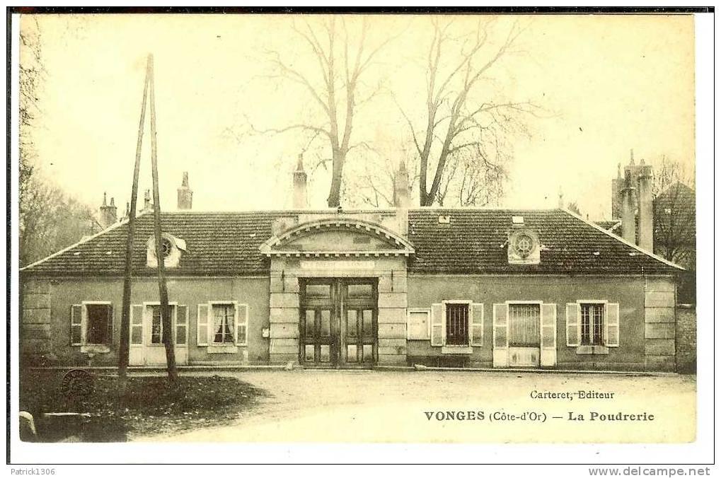 CPA  VONGES, La Poudrerie 1469 - Autres Communes