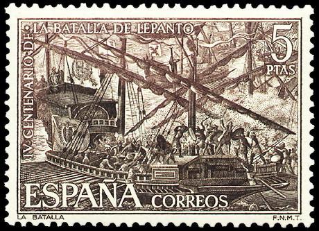 España S 2056 ** Lepanto.1971 - 1931-Hoy: 2ª República - ... Juan Carlos I