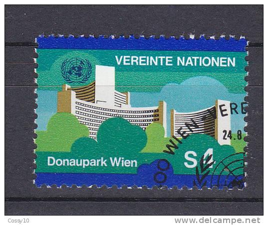 NATIONS  UNIES  VIENNE   1979/80  N°4   OBLITERE    CATALOGUE YVERT - Centre International De Vienne