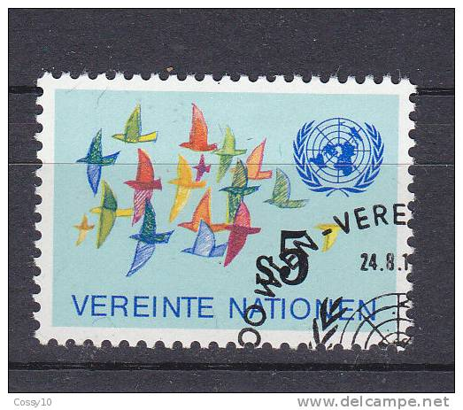 NATIONS  UNIES  VIENNE   1982  N°26   OBLITERE    CATALOGUE YVERT - Centre International De Vienne