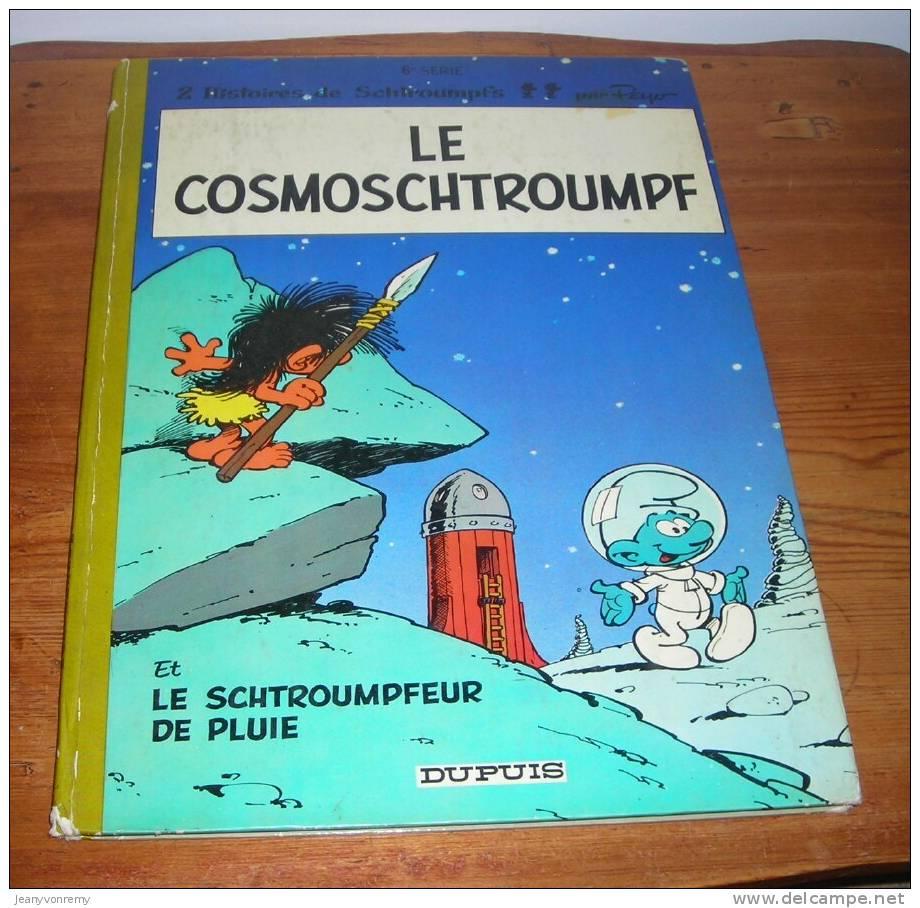 Le Cosmoschtroumpf - Le Schtroumpfeur De Pluie - Peyo - 1970. - Schtroumpfs, Les