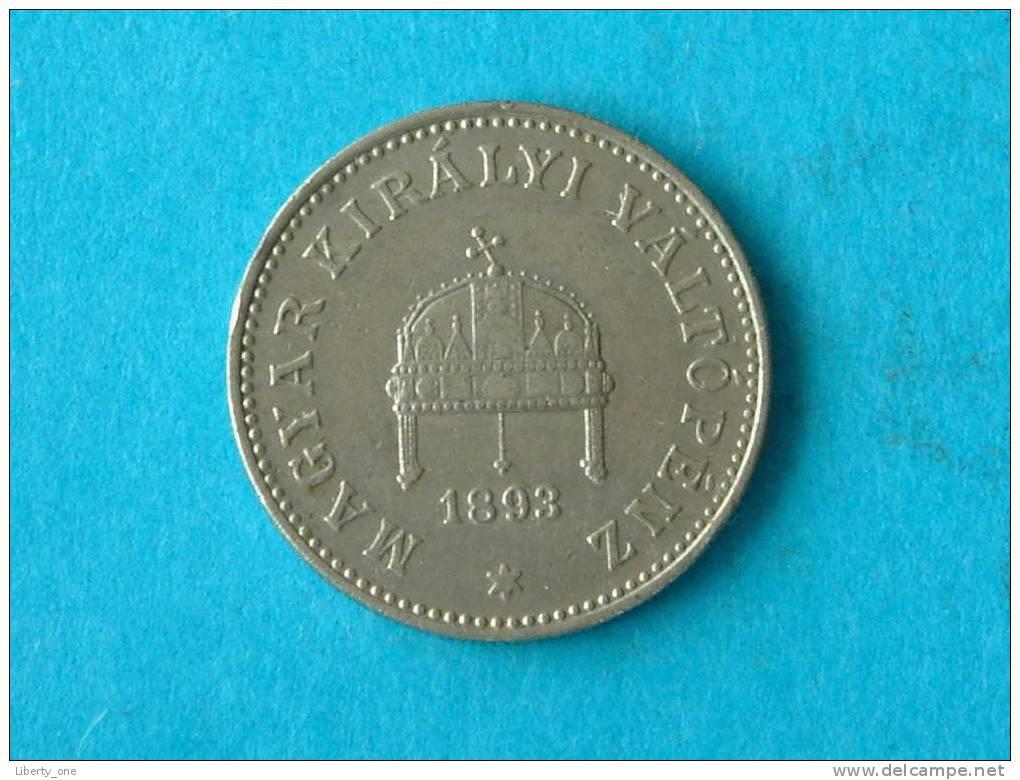 1893 KB - 20 FILLER / KM 483 ( For Grade, Please See Photo ) ! - Hongrie