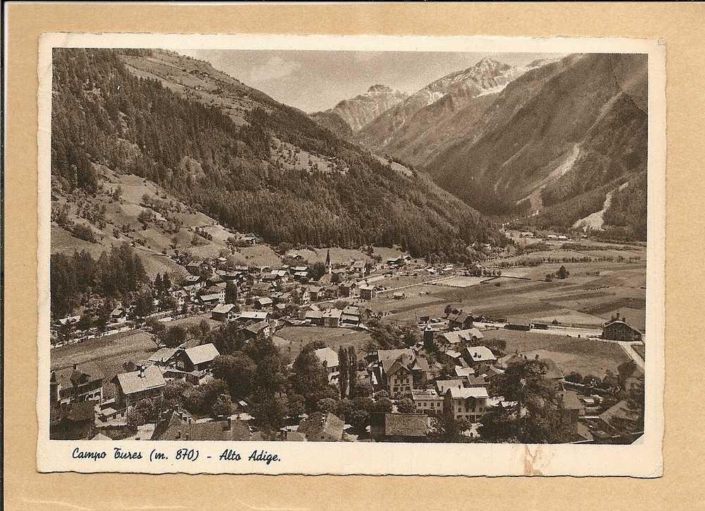 BOLZANO - CAMPO TURES - ALTO ADIGE 1937 - Bolzano