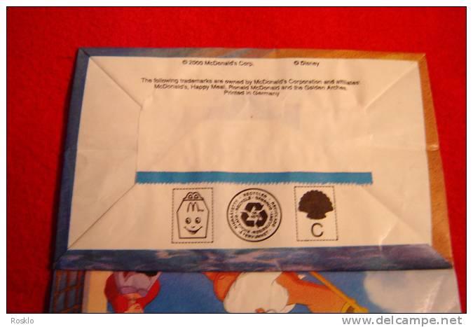 MAC DONALD / LA PETITE SIRENE 2  / DISNEY  / SAC HAPPY MEAL 2000 / PARFAIT ETAT - McDonald's