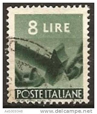 ITALIE -- N°495   Obliteré -- 1945 - Gebraucht