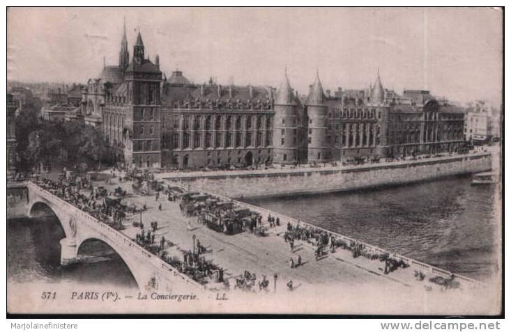 CPA PARIS (Ve) La Conciergerie. - LL N° 571 - District 01