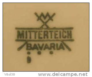 ASSIETTE 3ème MARCHE POPULAIRE 10 ET 11 MARS 1984 MORVILLARS . MITTERTEICH BAVARIA - Mitterteich (DEU)