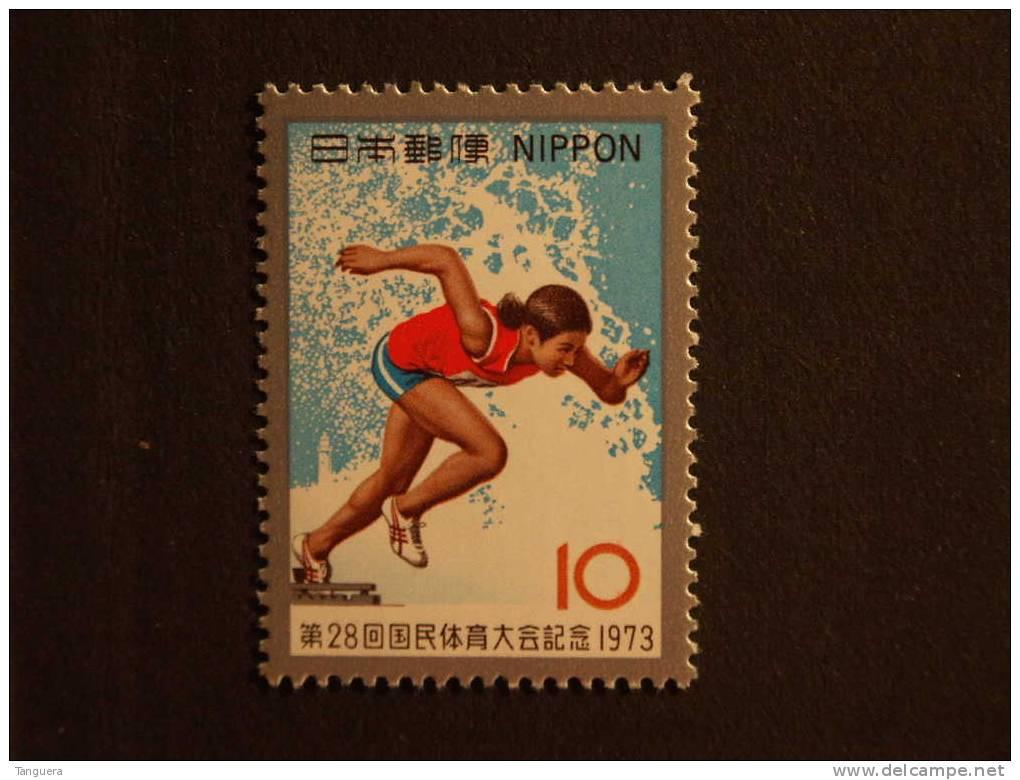 Japan Japon Nippon 1973 Rencontre Sportive Course à Pied Lopen Yv 1092  MNH ** - 1926-89 Emperor Hirohito (Showa Era)